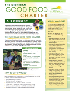 Good Food Charter Summary